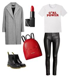 """Без названия #2"" by zagoruyko-i on Polyvore featuring мода, H&M, Dr. Martens, rag & bone, Love Moschino и NARS Cosmetics"