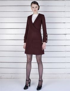 Giulietta Pre-fall 2012. Admiral Jacket with white simple dress.  Exactly what I'd want to wear to the office.