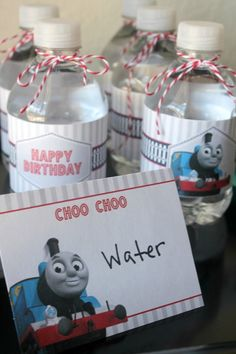 Free Thomas The Train Engine Birthday Party Printables