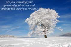 Are you watching your personal goals movie and making full use of your vision? #easygoals | http://easygoals.com/