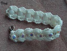 by Éva Pálné Osvald Beading, Candy, Bracelets, Jewelry, Sweet, Bangles, Beads, Toffee, Jewlery