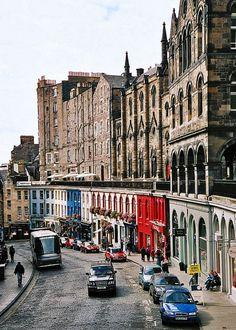 Ecosse, Lothian, Edinburgh, Victoria Street