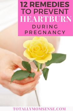 Are you pregnant & looking for heartburn relief? These 12 simple tips and home remedies can help you relieve heartburn during pregnancy. How To Relieve Heartburn, Heartburn Symptoms, Heartburn Relief, Constant Heartburn, Heartburn Medicine, Heartburn Medication, 3rd Trimester Pregnancy, First Time Pregnancy