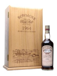Bowmore 1964 / 35 Year Old / Sherry Cask Scotch Whisky : The Whisky Exchange