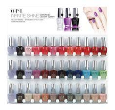 opi Infinite Shine 2 colors