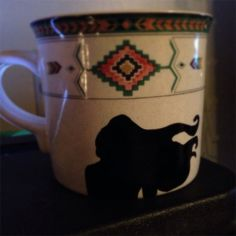 Paint with all the Colors of the Wind Mug on Etsy, $10.00