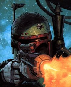 Star Wars Verse is your go-to source for high-quality Star Wars content. We cover Star Wars Theory, Comics, Explained, and so much more! Boba Fett Mandalorian, Star Wars Boba Fett, Jango Fett, Star Wars Fan Art, Chasseur De Primes, Starwars, Star Wars Bounty Hunter, Star Wars Poster, The Villain