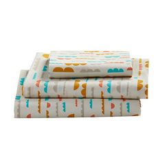 Take in the soothing scenes of the great outdoors (from the indoors) with Our High Plains Bedding. Designed exclusively by Elizabeth Olwen, the duvet is made from organic cotton and features an all-over print, while the sheet set includes giraffes, trees or clouds. Don't forget to pick up a matching sham to complete the set.<br /><br /><NEWTAG/><ul><li>Nod exclusive</li><li>An Elizabeth Olwen design</li><li>Printed</li><li>Organic 200-thread count cotton percale</li><li>Duvet features…