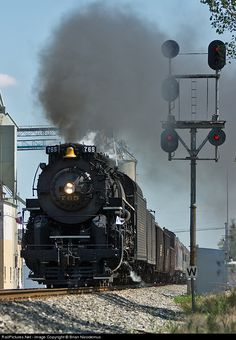 RailPictures.Net Photo: NKP 765 Nickel Plate Road Steam 2-8-4 at Payne, Ohio by Brian Nicodemus