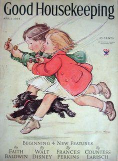 ThomasVernon ~ Good Housekeeping Cover, April 1934