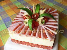 ** Slaný dort k maturitě **
