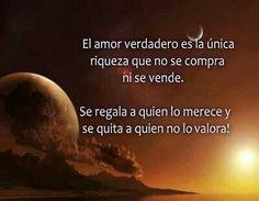 El amor verdadero....