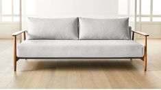 Convertible grey sleeper sofa is the am/pm solution for the space-challenged or the friendly out-of-towner. By day, it's a comfy lounge for TV/reading/etc. Ikea Furniture, Living Furniture, Sofa Bar, Sleeper Couch, Unique Sofas, Elegant Sofa, Best Sofa, Sofa Design, Love Seat