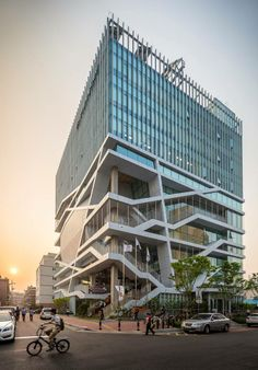 Unsangdong Architects Culture Forest Building, Seoul, South Korea © Fernando Guerra, FG+SG Architectural Photography