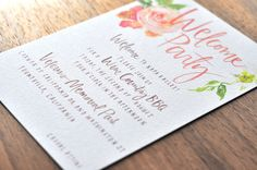 Focus on pressed paper. Via Oh So Beautiful #Paper: Julie Song Ink #mockup #inspiration