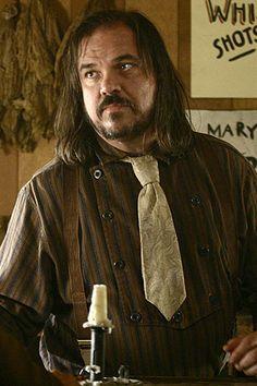 W. Earl Brown as Dan Dority in Deadwood.