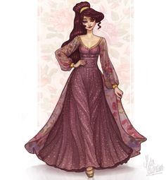 Megara ! <<< Cute! I like this better than her original dress! But I don't guess this looks Greek at all...