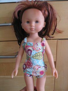 Maillot de bain pour Clara (poupée Corolle - Les Chéries)