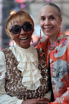 ADVANCED STYLE: Three Dance Legends at Lincoln Center's Midsummer Night Swing