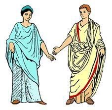 """Estas prendas se hacían en varios colores. El emperador lucía toga color púrpura, el ciudadano, habitualmente la llevaba en color blanco, elaborada en la lana de excelente calidad. Asimismo, la toga cándida era llevada en época de elecciones. De allí surgió el término """"candidato"""" para señalar a los posibles elegidos.  Lee todo en: Vestimenta Romana   La guía de Historia http://www.laguia2000.com/edad-antigua/roma/vestimenta-romana"""
