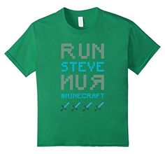 Minecraft Steve Adventure Youth T-Shirt - Kids 4 - Kelly Green Unknown http://www.amazon.com/dp/B019ERK8AG/ref=cm_sw_r_pi_dp_8lnCwb05Q72HP