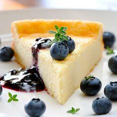 Lemon Goat Cheese Cake (use gf flour blend or cornstarch)