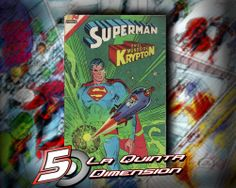 """SUPERMAN # 3 - 78 TAMAÑO AVESTRUZ, CON EL FINAL DE """"EL MUNDO DE KRYPTON"""". DIBUJO DE CURT SWAN. $ 60.00 Para más información, contáctanos en http://www.facebook.com/la5aDimension"""
