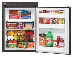 Norcold Compact Gas/Electric Refrigerator - Black -RVUPGRADES.COM