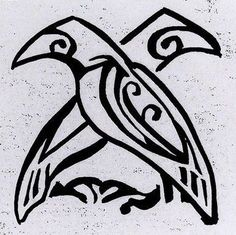 Odin Crow Tattoo, The Effective Pictures We Offer You About cactus dibujo A quality pi Viking Art, Viking Symbols, Viking Woman, Viking Designs, Celtic Designs, Tattoo Odin, Celtic Raven Tattoo, Armor Tattoo, Odin Norse Mythology