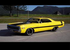 1971 Chrysler 300 440 TNT from Austria, - Matching numbers U-Code (440 TNT-V8)