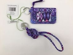 Vera Bradley Lanyard and Zip ID Case Lilac Tapestry for sale online Lanyard Wallet, Document Holder, Id Holder, Car Stuff, Vera Bradley, Women's Accessories, Lilac, Wallets, Random Stuff