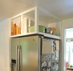 Tiny House Storage, Small Kitchen Storage, Small Space Storage, Small Space Kitchen, Corner Storage, Small Space Living, Extra Storage, Kitchen Space Savers, Kitchen Shelves