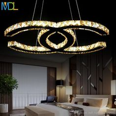 15w 18w 35w 48W LED Crystal Chandeliers Modern Led Pendant Light Silver Amber Flush Mount Ceiling Light Fixtures for Living Room AC110-240V Crystal Chandeliers Led Pendant Light Led Chandelier Online with $561.36/Piece on Mdl_lighting_company's Store | DHgate.com