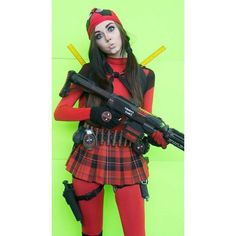Kiss kiss bang bang 😘💋 PC📸: @pandariot779 #deadpool #cosplayer #marvel #ladypool #cosplay #girlswhocosplay #womenofmarvel #mercwithamouth #marvelcomics #instadaily #picoftheday #ootd #motd #schoolgirl #pigtails #deadpoolcosplay #ladydeadpool #marvelcomics #cosplayersofinstagram #cosplaygirl #igers #marvelfans #wandawilson