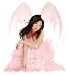 angelo color rosa My Guardian Angel 0a866d3d5bdd7