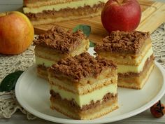 temperatury Tart Recipes, Sweet Recipes, Baking Recipes, Snack Recipes, Dessert Recipes, Easy Blueberry Muffins, Polish Desserts, Delicious Deserts, Different Cakes