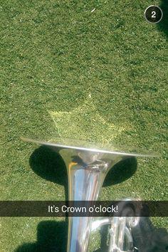 Carolina Crown 2014. Snapchat.