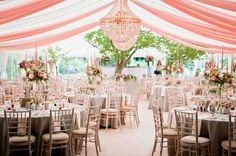 Jacaranda Catering, Southdowns Marquees, Crescent Moon came to together to create this stunning wedding for Holly Smith Holly Smith, Marquee Events, Marquee Wedding, Catering, Moon, Weddings, Table Decorations, Create, Home Decor