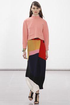 Issa A/W14 @ London Fashion Week