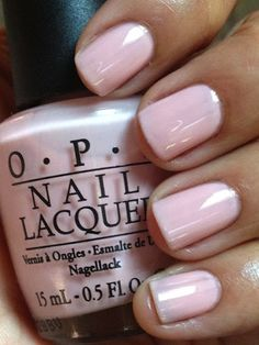 OPI second honeymoon | Pretty in pink! A fun spring/summer neutral. Looks great with my tan summer skin.