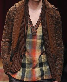 patternprints journal: PRINTS, PATTERNS AND TEXTILE SURFACES FROM MILAN CATWALKS (MENSWEAR F/W 2015/16) / Missoni