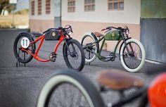 Fantastica bicicleta eléctrica estilo retro. | Quiero más diseño