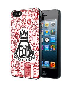 Fall Out Boy Logo2 Samsung Galaxy S3 S4 S5 Note 3 Case, Iphone 4 4S 5 5S 5C Case, Ipod Touch 4 5 Case