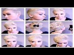 HAIR Tutorial: Pt. 2 ROCKING 5 Different Pixie Hairstyles - YouTube