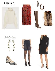 Fashion Friday: Style Solutions - Forgiving Holiday Wear — Elements of Style Blog How To Look Pretty, That Look, Style Blog, My Style, Holiday Wear, Elements Of Style, Winter Looks, Wrap Style, Fashion Dresses