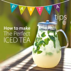 Tea Party Tip: Create the perfect iced tea this Spring or Summer. http://recipes.steepedtea.com/how-to-make-the-perfect-iced-tea/ http://www.mysteepedtea.com/nikjuneau