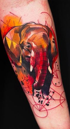 3D Watercolor Tattoo Designs | Tattoo Ideas Gallery & Designs 2016 ...