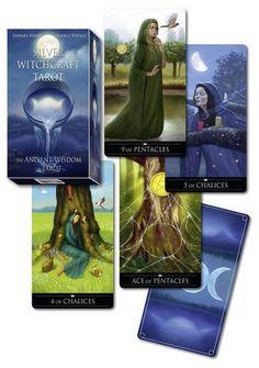 Tarot Silver Witchcraft, de Barbara Moore y Franco Rivolli. Puedes conseguirlo en http://adivinacion.esoterik-a.com/producto/tarot-silver-witchcraft/