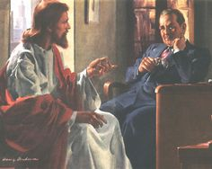 Divine Counselor (1945) by Harry Anderson for the Seventh-day Adventist Church