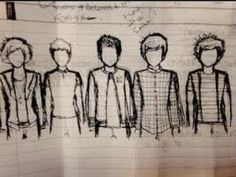 Baby Boy Cartoon Drawing One Direction 36 Ideas For 2019 One Direction Cartoons, One Direction Drawings, One Direction Preferences, One Direction Quotes, One Direction Imagines, One Direction Pictures, I Love One Direction, 1d Imagines, Louis Tomlinson